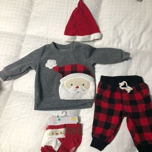 Baby 3 Month Christmas Outfit